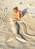 mermaid Immagini Stock Libere da Diritti