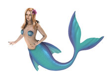 mermaid vektor illustrationer