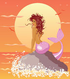mermaid Immagine Stock