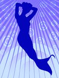 mermaid Иллюстрация штока
