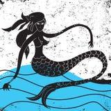 mermaid stock illustratie