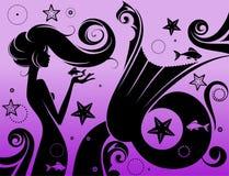 mermaid Royalty-vrije Stock Foto