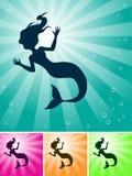 mermaid Стоковые Фотографии RF
