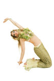 Mermaid. A young attractive woman wearing a mermaid fancy dress outfit Royalty Free Stock Photo