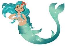 mermaid imagem de stock royalty free
