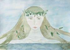 mermaid Foto de Stock