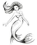 mermaid Fotografie Stock Libere da Diritti