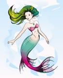 mermaid Fotografia Stock Libera da Diritti