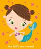 маленький mermaid Стоковые Изображения
