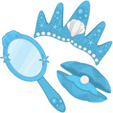 Mermaid Accessories Royalty Free Stock Photography