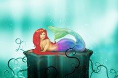 Mermaid stock illustration
