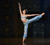 """Mermaid- ballet """"One Thousand and One Nights"""" Stock Photo"""