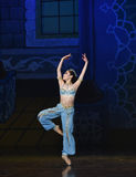 """The mermaid - ballet """"One Thousand and One Nights"""" Royalty Free Stock Photos"""