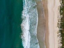 Mermaid Beach in Queensland royalty free stock image