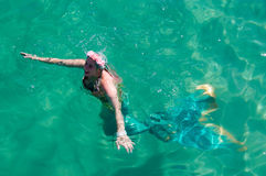 Mermaid at Coogee Beach Festival Stock Photography