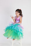 mermaid costume Стоковое Фото