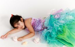 Mermaid costume Royalty Free Stock Photo