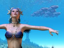 Mermaid Dreams Royalty Free Stock Photo
