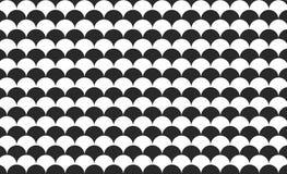 Mermaid fish scales wave Japanese seamless pattern background . Illustration design