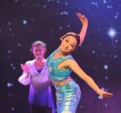 Mermaid-Folk dance Royalty Free Stock Photography
