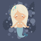 Mermaid girl. Royalty Free Stock Photography