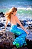 Mermaid in Hawaii Royalty Free Stock Photography