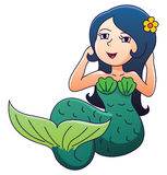 Mermaid. Illustrator design .eps 10 Vector Illustration
