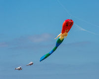 Mermaid at Kite Festival Weston-super-Mare Somerset Royalty Free Stock Photos