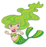Mermaid little Stock Photography