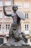 Mermaid monument Royalty Free Stock Photos