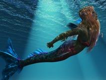 Free Mermaid Of The Sea Royalty Free Stock Photo - 28308655