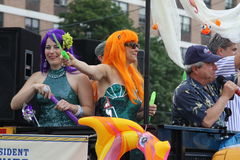 Mermaid Parade 2011 in Brooklyn Stock Image