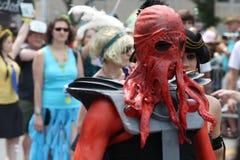 Mermaid Parade 2011 in Brooklyn Royalty Free Stock Photos