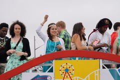 The 2015 Mermaid Parade 12 Royalty Free Stock Photography