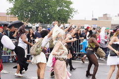 The 2015 Mermaid Parade 32 Stock Photography