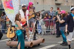 The 2015 Mermaid Parade Part 6 50 Royalty Free Stock Image
