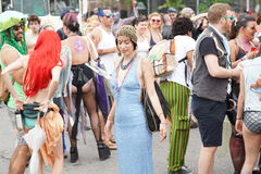 The 2015 Mermaid Parade Part 7 1 Stock Images