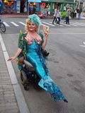 Mermaid ,Provincetown , Cape Cod MA Royalty Free Stock Photo