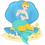 Mermaid`s Treasure Stock Photo