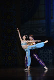 """The mermaid and the sailor fell in love- ballet """"One Thousand and One Nights"""" Stock Photo"""
