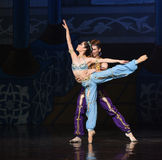 """The mermaid and the sailor fell in love- ballet """"One Thousand and One Nights"""" Royalty Free Stock Image"""