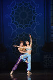 """The mermaid and the sailor fell in love- ballet """"One Thousand and One Nights"""" Royalty Free Stock Photo"""