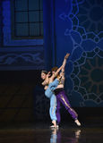 """The mermaid and the sailor fell in love- ballet """"One Thousand and One Nights"""" Royalty Free Stock Images"""