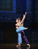 """The mermaid and the sailor fell in love- ballet """"One Thousand and One Nights"""" Stock Photography"""