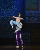 """The mermaid and the sailor fell in love- ballet """"One Thousand and One Nights"""" Stock Images"""
