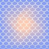 Fish scale and mermaid background. Mermaid scale on trendy gradient background. Square backdrop with mermaid scale ornament. Bright color transitions. Fish tail Royalty Free Stock Image