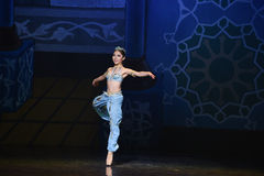 """Mermaid in the sea- ballet """"One Thousand and One Nights"""" Stock Images"""