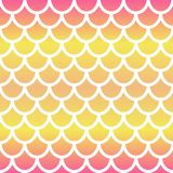 Mermaid seamless pattern. Gradient mermaid scale background. Fish scale backdrop. Vector vector illustration