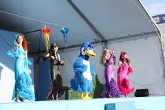 Mermaid Show Stock Photo