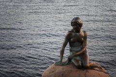 Mermaid statue in Copenhagen Denmark Stock Photography